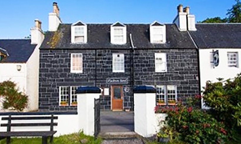 Visit Plockton, Accommodation, The Plockton Hotel