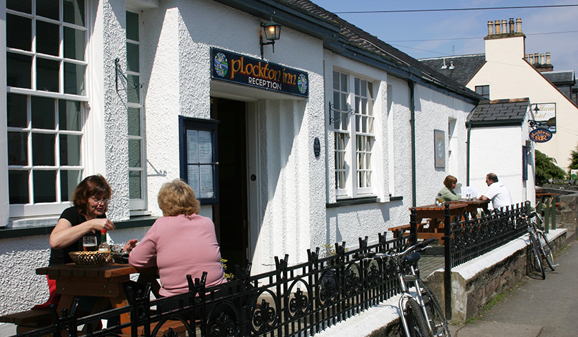 Visit Plockton, Accommodation, Plockton Inn