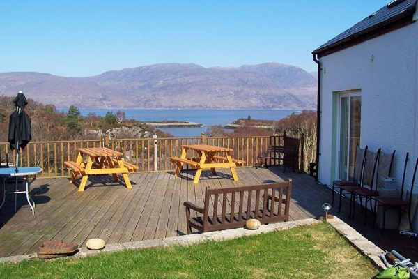 Visit Plockton, Bed and Breakfast, Hill View