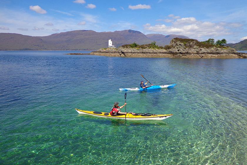 Visit Plockton, Discover Plockton, Sea Kayaking
