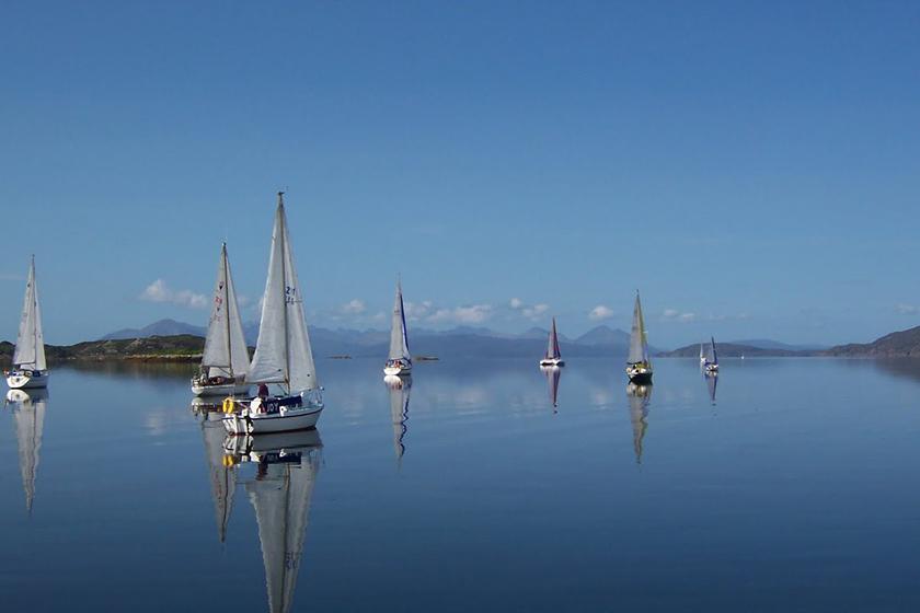 Visit Plockton, Discover Plockton, Sailing