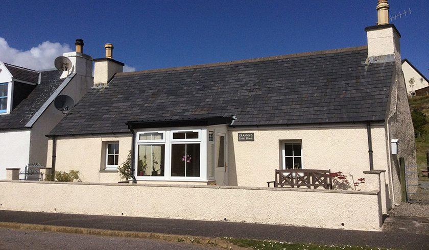 visit Plockton grannys croft house