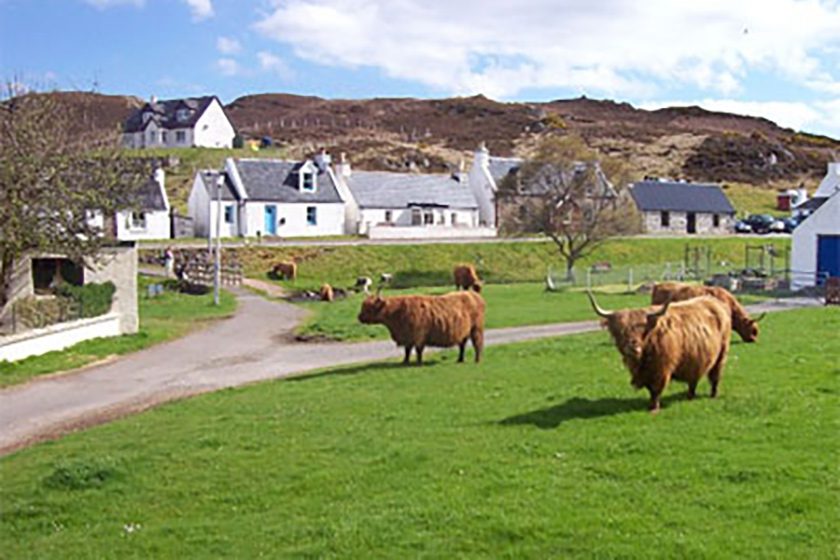 Visit Plockton, Self Catering, Granny's Croft House