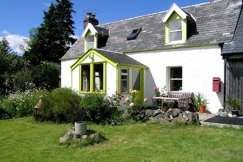 Visit Plockton, Self Catering, Rhu Cottage