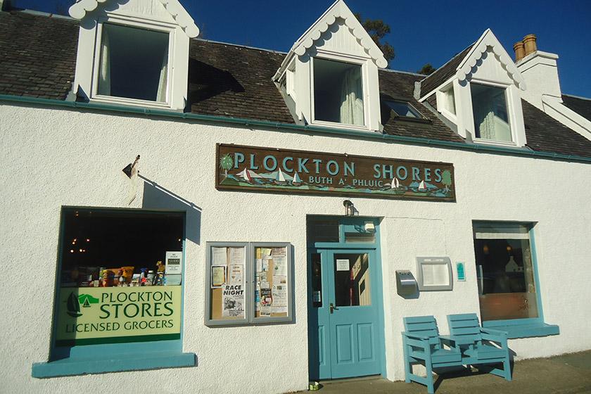 visit plockton shops
