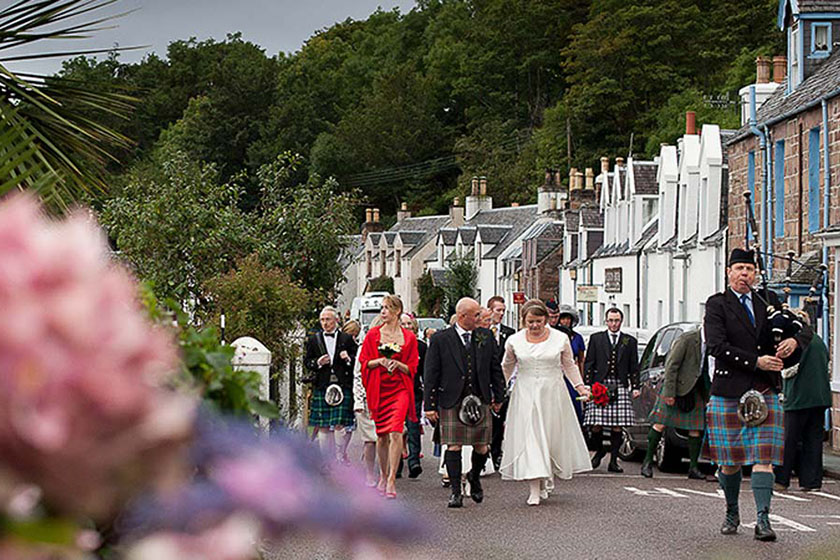 visit Plockton wedding