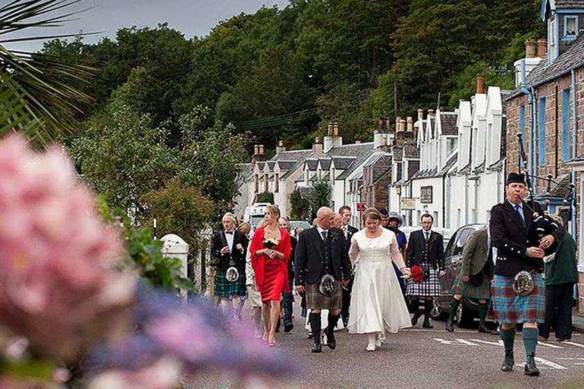 visit Plockton wedding