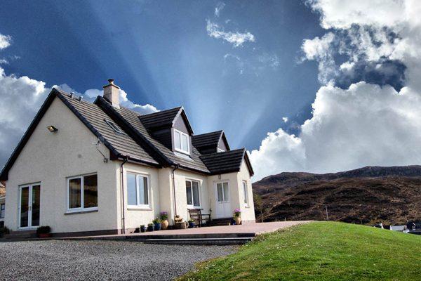 visit plockton tigh arran exterior