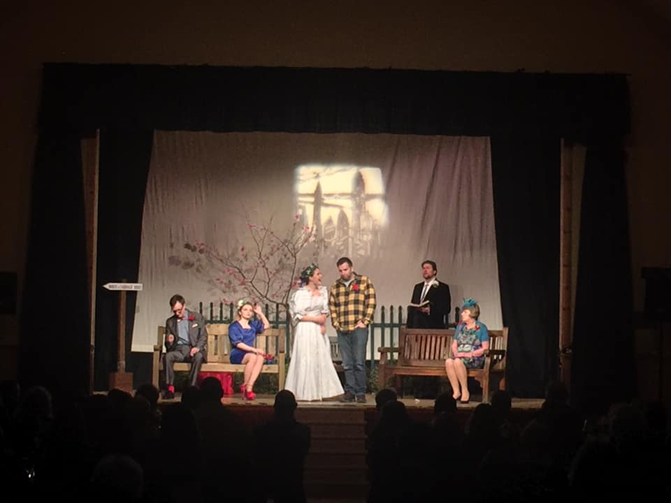 plockton Amateur dramatics society Bridal Terrorism