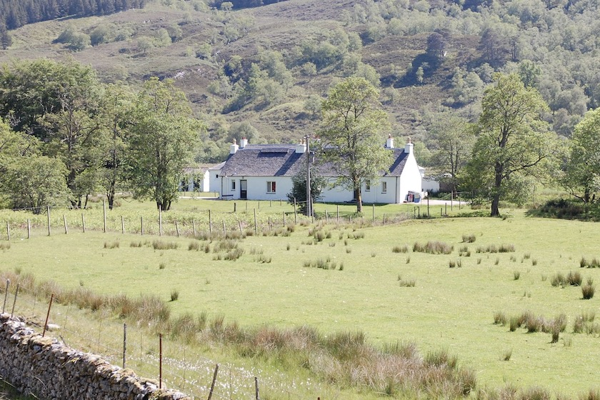attadale cottages west and east bothies in countryside