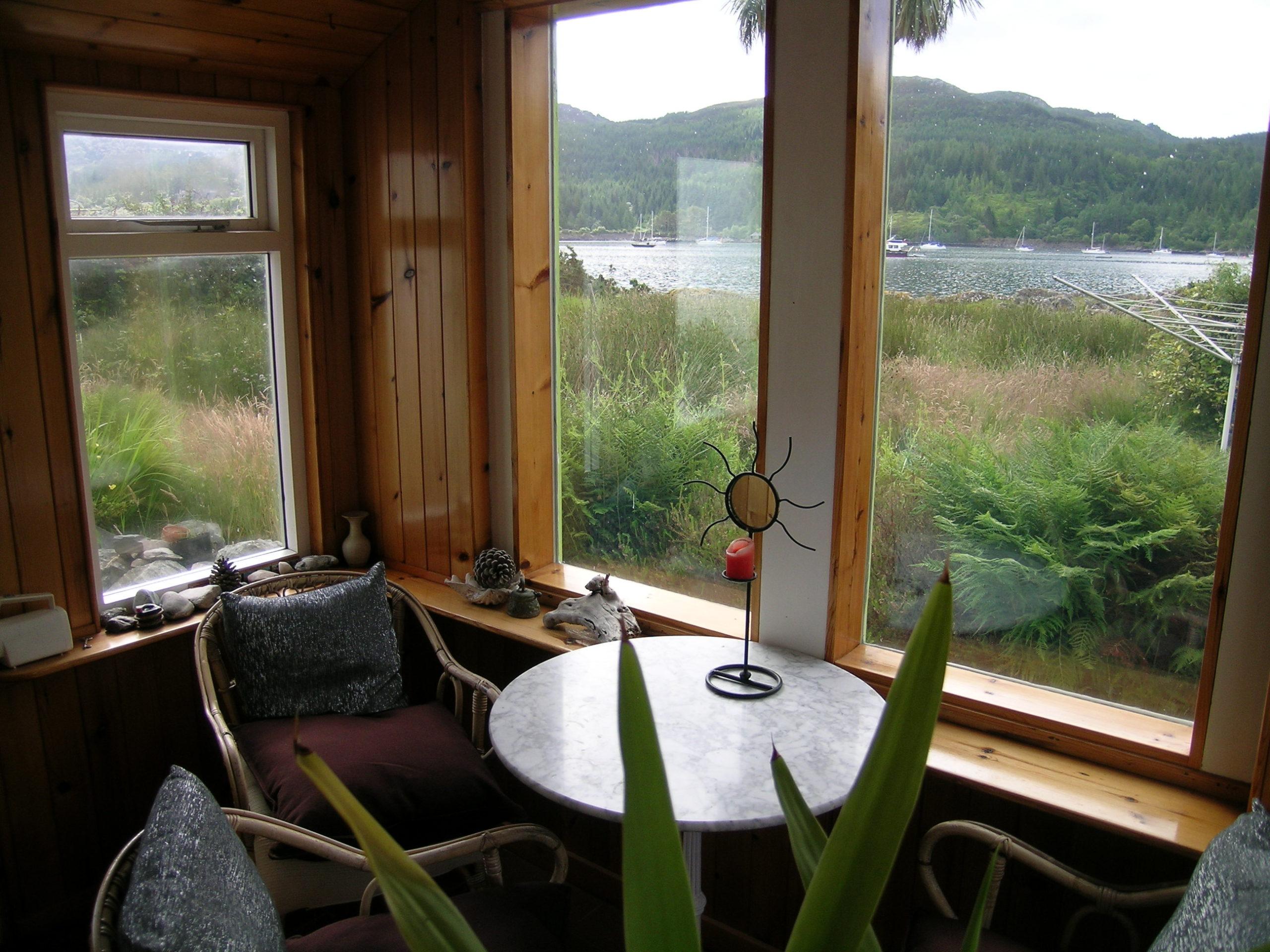 Visit Plockton Rhu Cottage Sun Room